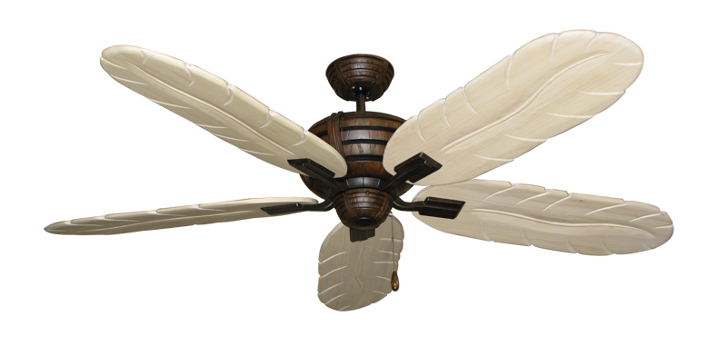"""Picture of Madeira Oil Rubbed Bronze with 58"""" Series 500 Arbor Whitewash Blades"""