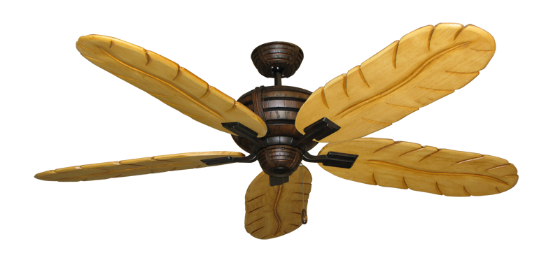 """Picture of Madeira Oil Rubbed Bronze with 58"""" Series 500 Arbor Maple Blades"""