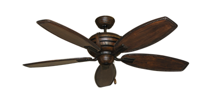 "Picture of Madeira Oil Rubbed Bronze with 52"" Series 550 Arbor Dark Walnut Blades"