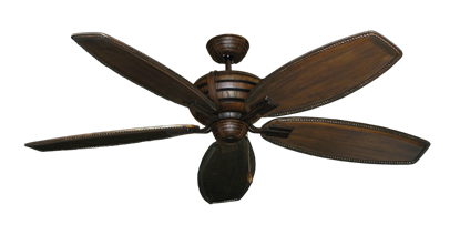 "Picture of Madeira Oil Rubbed Bronze with 60"" Series 525 Arbor Dark Walnut Blades"