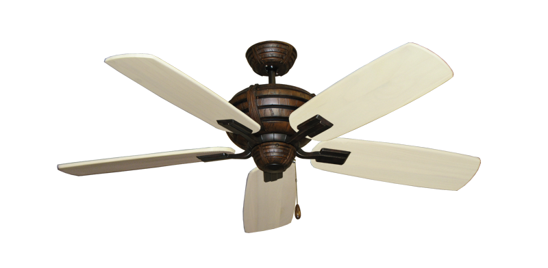 "Picture of Madeira Oil Rubbed Bronze with 52"" Series 710 Arbor Whitewash Blades"