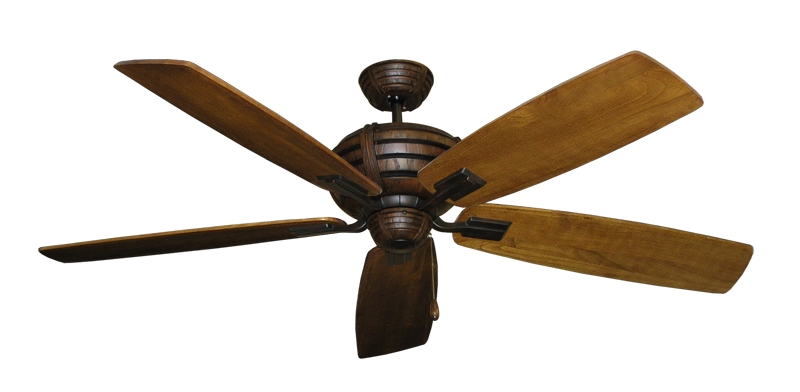 "Picture of Madeira Oil Rubbed Bronze with 60"" Series 725 Arbor Oak Blades"