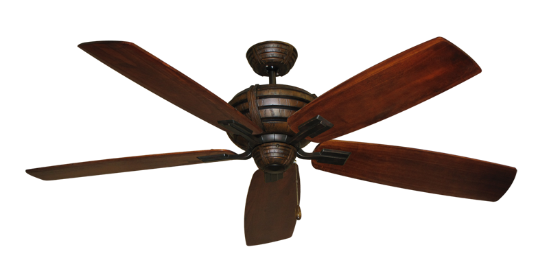 """Picture of Madeira Oil Rubbed Bronze with 60"""" Series 725 Arbor Cherrywood Blades"""