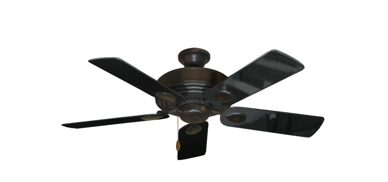 "Picture of Futura Oil Rubbed Bronze with 44"" Black Gloss Blades"