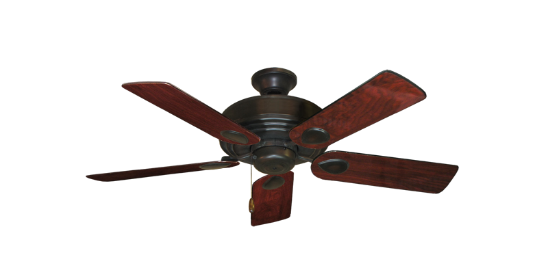 """Picture of Futura Oil Rubbed Bronze with 44"""" Cherrywood Gloss Blades"""