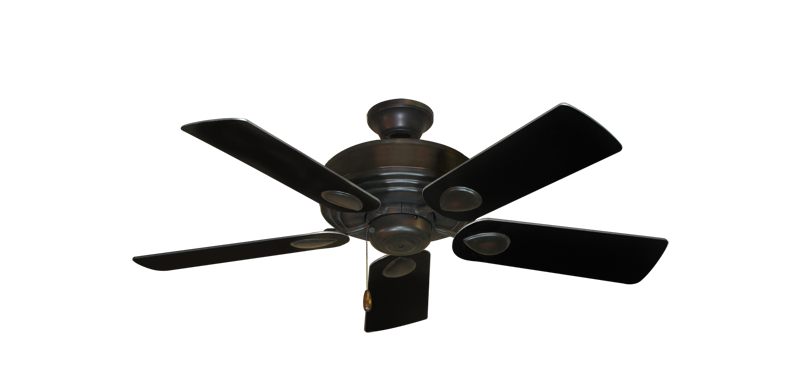 "Picture of Futura Oil Rubbed Bronze with 44"" Black Blades"