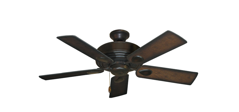 """Futura Oil Rubbed Bronze with 44"""" Distressed Hickory Blades"""