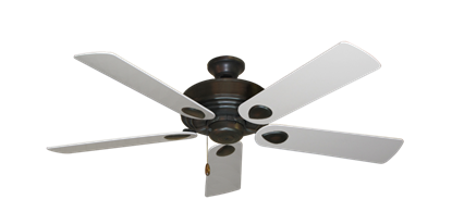 "Picture of Futura Oil Rubbed Bronze with 52"" Pure White Blades"
