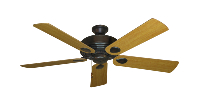 """Picture of Futura Oil Rubbed Bronze with 52"""" Honey Oak Blades"""