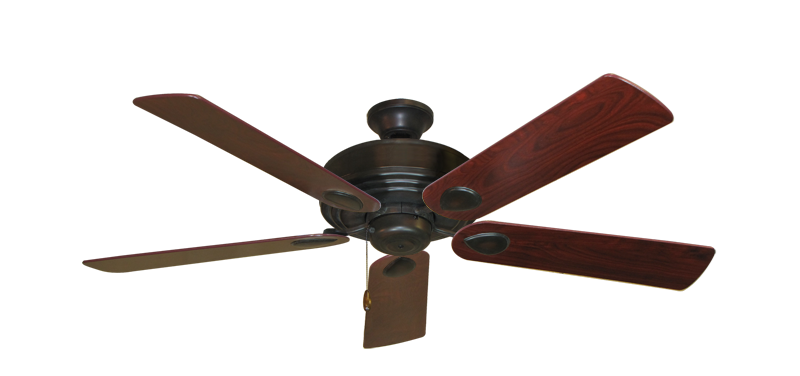 "Picture of Futura Oil Rubbed Bronze with 52"" Cherrywood Blades"