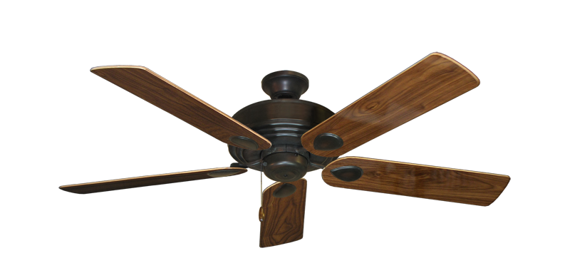 "Picture of Futura Oil Rubbed Bronze with 52"" Walnut Gloss Blades"