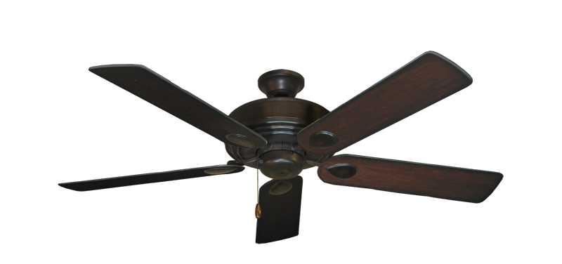 "Picture of Futura Oil Rubbed Bronze with 52"" Distressed Cherry Blades"