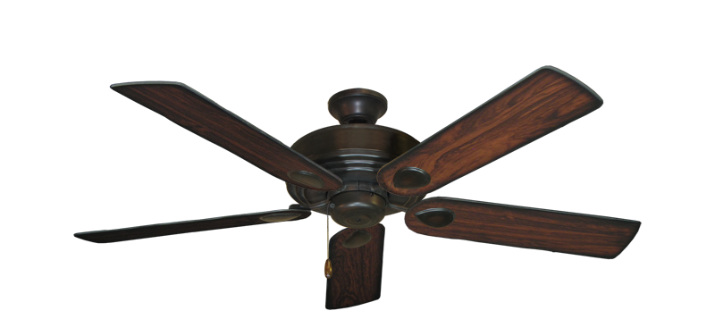 "Picture of Futura Oil Rubbed Bronze with 52"" Burnt Cherry Blades"