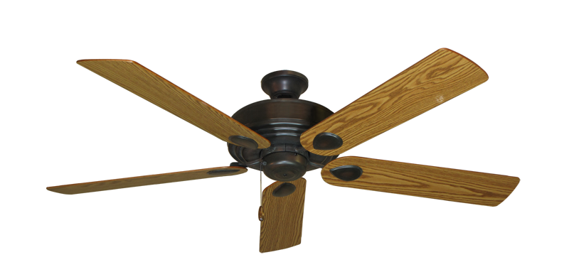 "Picture of Futura Oil Rubbed Bronze with 56"" Oak Blades"