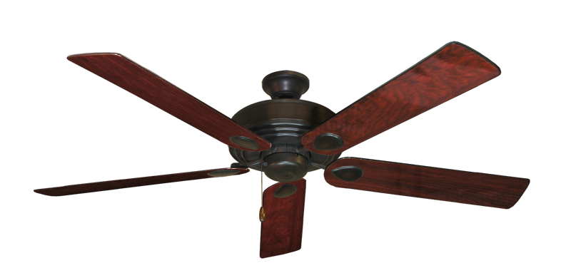"""Picture of Futura Oil Rubbed Bronze with 60"""" Cherrywood Gloss Blades"""