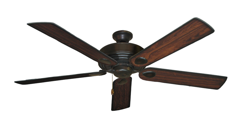 """Picture of Futura Oil Rubbed Bronze with 60"""" Burnt Cherry Blades"""