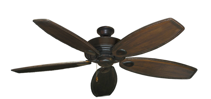 "Picture of Futura Oil Rubbed Bronze with 60"" Series 525 Arbor Dark Walnut Blades"