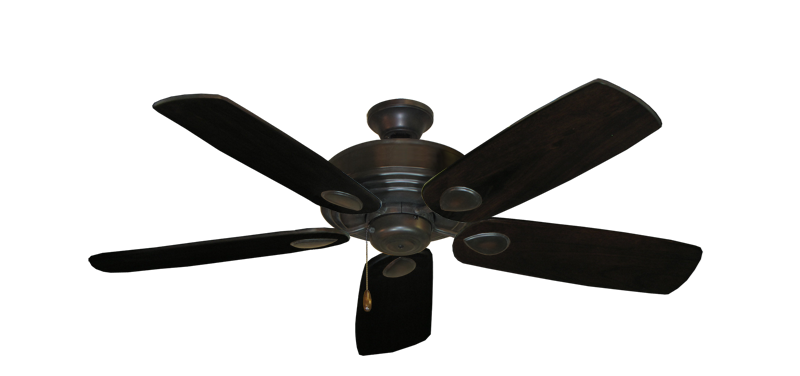 "Picture of Futura Oil Rubbed Bronze with 52"" Series 710 Arbor Dark Walnut Blades"