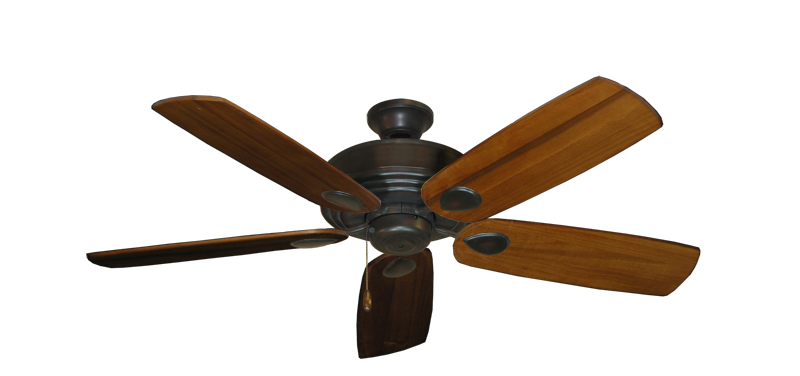 "Picture of Futura Oil Rubbed Bronze with 52"" Series 710 Arbor Oak Blades"