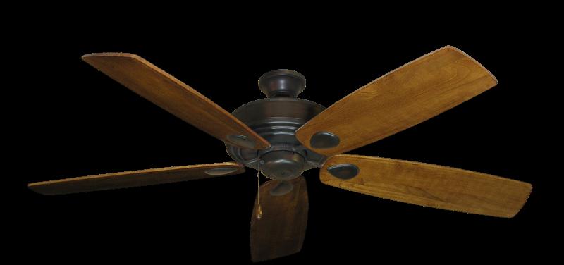 "Picture of Futura Oil Rubbed Bronze with 60"" Series 725 Arbor Oak Blades"