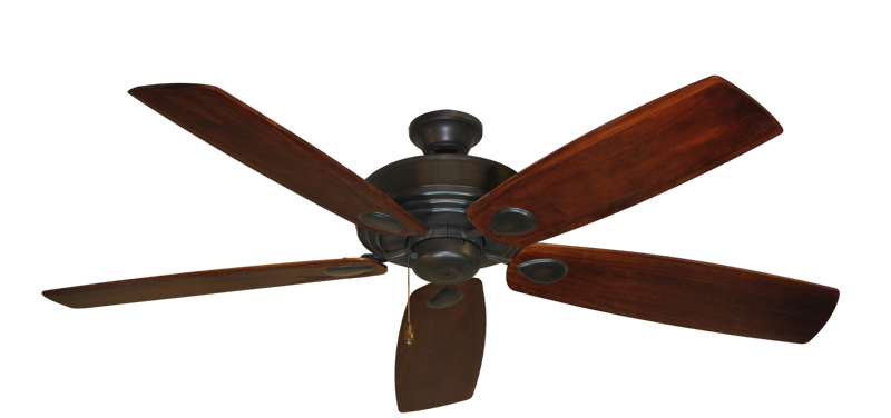 """Picture of Futura Oil Rubbed Bronze with 60"""" Series 725 Arbor Cherrywood Blades"""