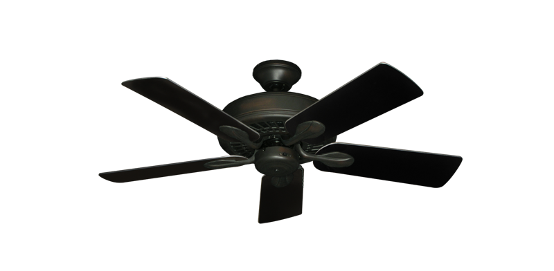 """Picture of Meridian Oil Rubbed Bronze with 44"""" Black Blades"""