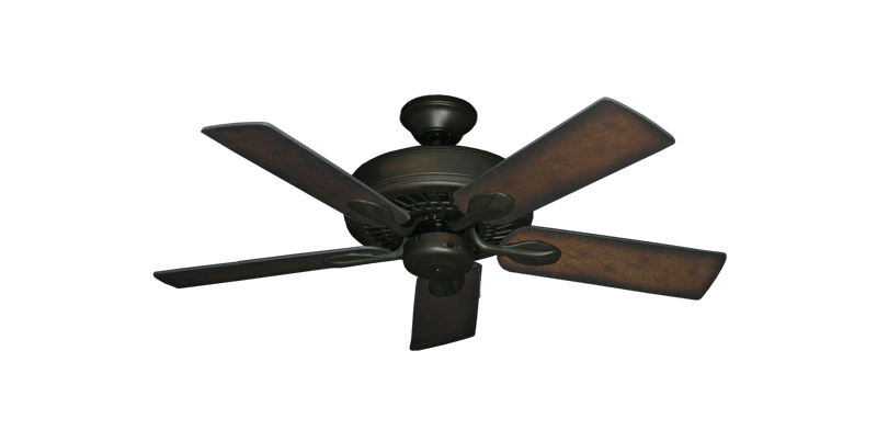 """Picture of Meridian Oil Rubbed Bronze with 44"""" Distressed Hickory Blades"""
