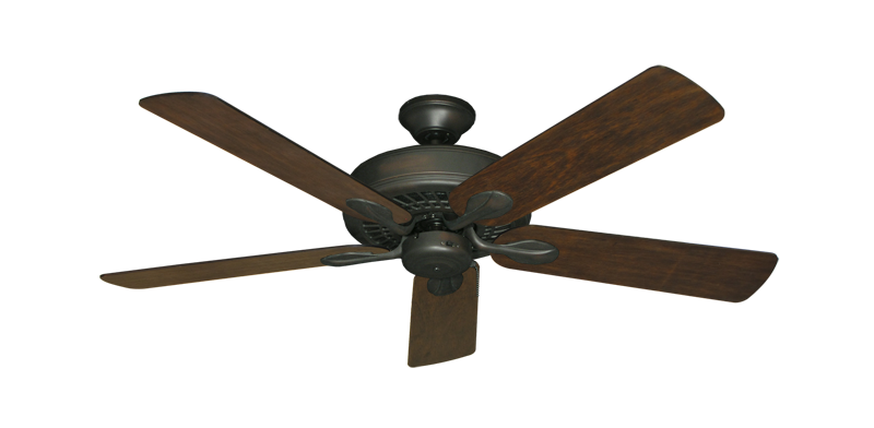 """Picture of Meridian Oil Rubbed Bronze with 52"""" Distressed Walnut Blades"""