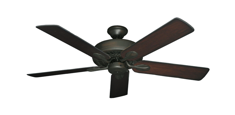 "Picture of Meridian Oil Rubbed Bronze with 52"" Distressed Cherry Blades"