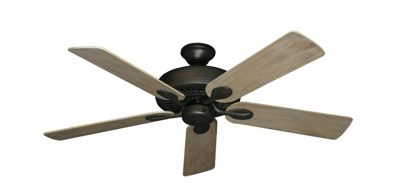 "Picture of Meridian Oil Rubbed Bronze with 52"" Driftwood Blades"