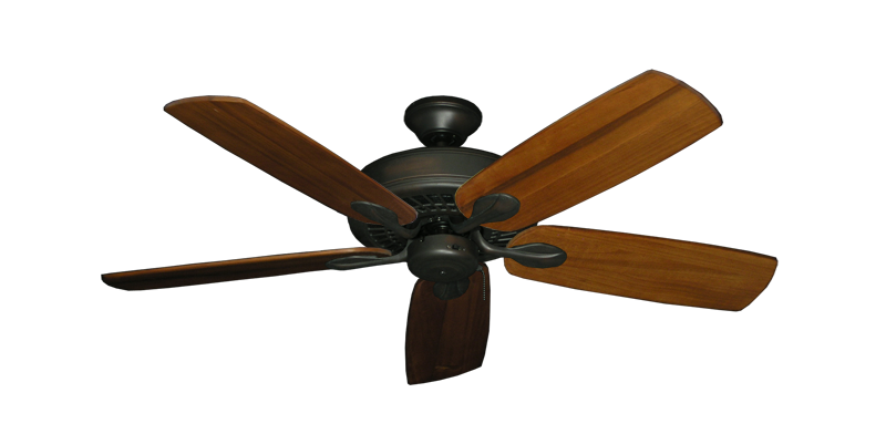 "Picture of Meridian Oil Rubbed Bronze with 52"" Series 710 Arbor Oak Blades"