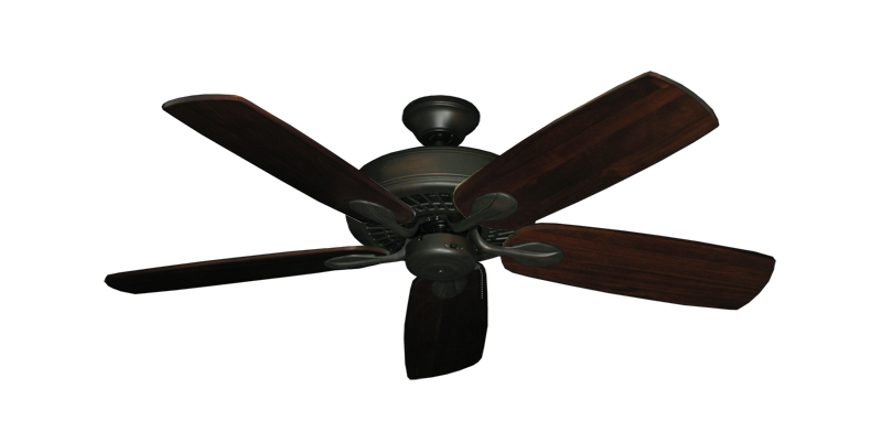"Picture of Meridian Oil Rubbed Bronze with 52"" Series 710 Arbor Cherrywood Blades"