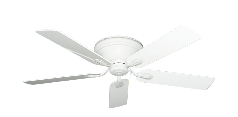"""Picture of Stratus Pure White with 52"""" Pure White Gloss Blades"""