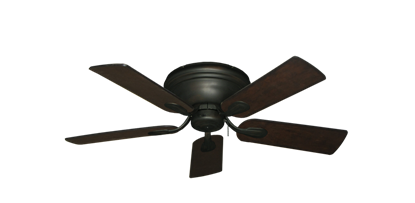 """Picture of Stratus Oil Rubbed Bronze with 44"""" Distressed Walnut Blades"""