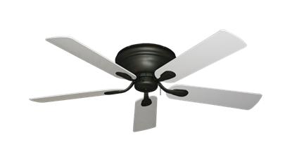 "Picture of Stratus Oil Rubbed Bronze with 52"" Pure White Blades"