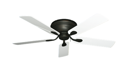 "Picture of Stratus Oil Rubbed Bronze with 52"" Pure White Gloss Blades"