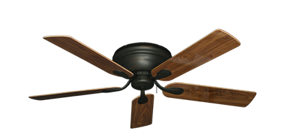 """Picture of Stratus Oil Rubbed Bronze with 52"""" Walnut Gloss Blades"""