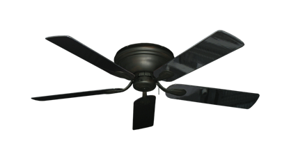 "Picture of Stratus Oil Rubbed Bronze with 52"" Black Gloss Blades"