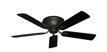 "Picture of Stratus Oil Rubbed Bronze with 52"" Black Blades"
