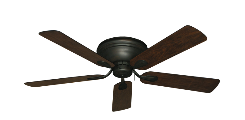 """Picture of Stratus Oil Rubbed Bronze with 52"""" Distressed Hickory Blades"""