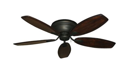 "Picture of Stratus Oil Rubbed Bronze with 52"" Series 550 Arbor Whitewash Blades"