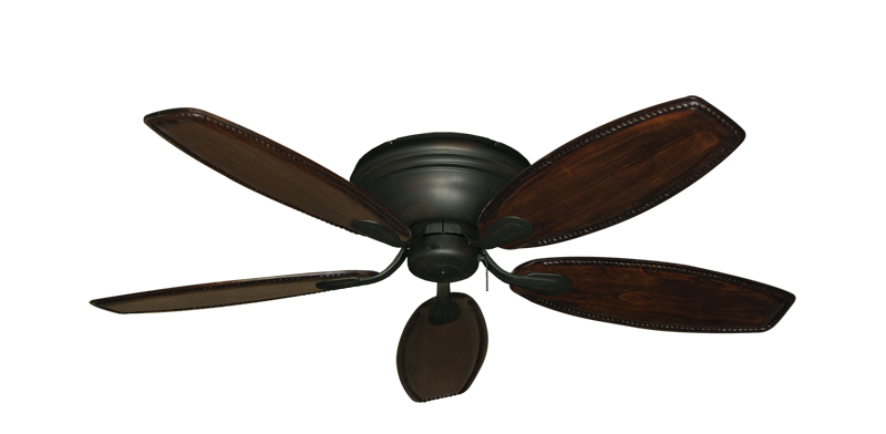 """Picture of Stratus Oil Rubbed Bronze with 52"""" Series 550 Arbor Whitewash Blades"""