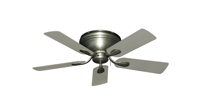 """Picture of Stratus Satin Steel with 44"""" Satin Steel (painted) Blades"""