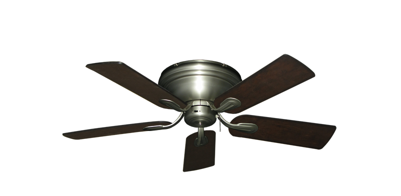 "Picture of Stratus Satin Steel with 44"" Distressed Walnut Blades"