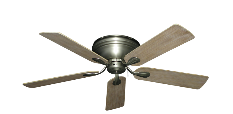 """Picture of Stratus Satin Steel with 52"""" Driftwood Blades"""