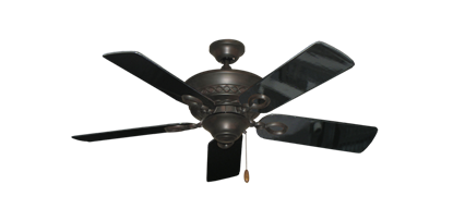 "Picture of Infinity Oil Rubbed Bronze with 44"" Black Gloss Blades"