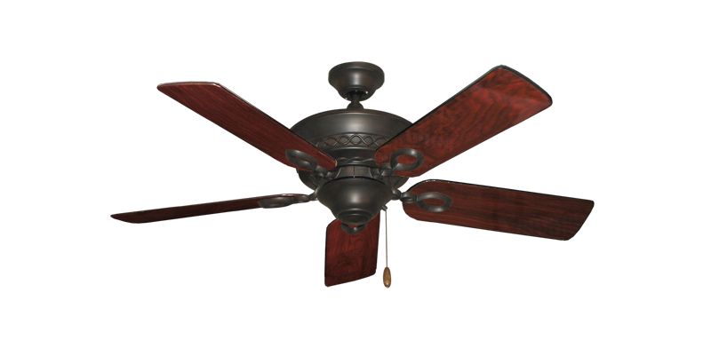 "Picture of Infinity Oil Rubbed Bronze with 44"" Cherrywood Gloss Blades"