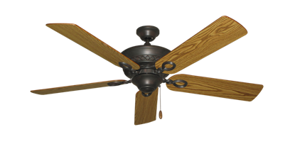 """Picture of Infinity Oil Rubbed Bronze with 52"""" Oak Blades"""