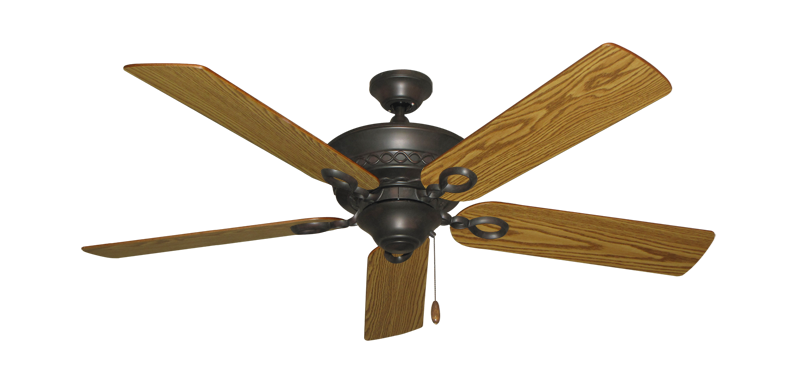 "Picture of Infinity Oil Rubbed Bronze with 52"" Oak Blades"