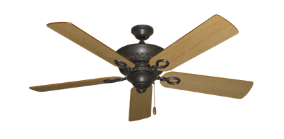 "Picture of Infinity Oil Rubbed Bronze with 52"" Maple Blades"